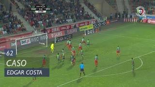 Marítimo M., Caso, Edgar Costa aos 62'