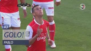 GOLO! SC Braga, Pablo aos 43', GD Chaves 0-1 SC Braga