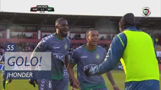 GOLO! Vitória FC, Jhonder aos 55', CD Aves 1-1 Vitória FC