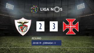 I Liga (11ªJ): Resumo Santa Clara 2-3 Belenenses SAD