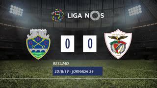 Liga NOS (24ªJ): Resumo GD Chaves 0-0 Sta. Clara