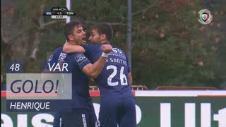 GOLO! Belenenses SAD, Henrique aos 48', Belenenses SAD 2-2 CD Tondela