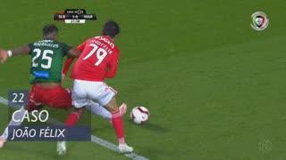 SL Benfica, Caso, João Félix aos 22'
