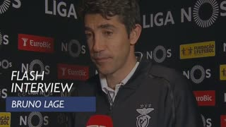 Liga (25ª): Flash Interview Bruno Lage