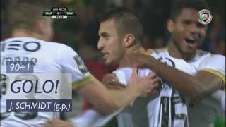 GOLO! Rio Ave FC, João Schmidt aos 90'+1', Marítimo M. 0-2 Rio Ave FC