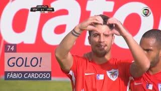 GOLO! Sta. Clara, Fábio Cardoso aos 74', Sta. Clara 2-1 Portimonense