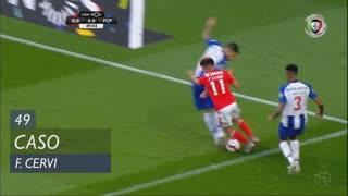 SL Benfica, Caso, F. Cervi aos 49'