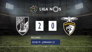 Liga NOS (22ªJ): Resumo Vitória SC 2-0 Portimonense