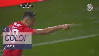 GOLO! SL Benfica, Jonas aos 9', CD Tondela 1-1 SL Benfica