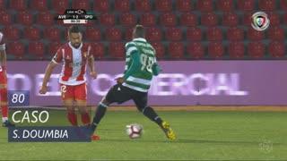 Sporting CP, Caso, S. Doumbia aos 80'