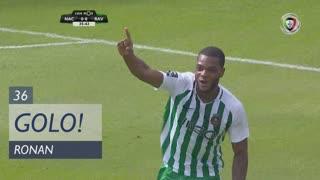 GOLO! Rio Ave FC, Ronan aos 36', CD Nacional 0-1 Rio Ave FC
