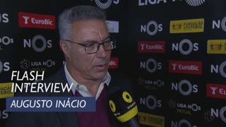 Liga (32ª): Flash Interview Augusto Inácio