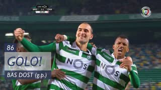 GOLO! Sporting CP, Bas Dost aos 86', Sporting CP 2-1 GD Chaves
