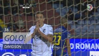 GOLO! Vitória SC, Davidson aos 36', GD Chaves 0-1 Vitória SC