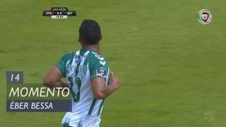 Vitória FC, Jogada, Éber Bessa aos 14'