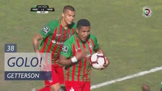 GOLO! Marítimo M., Getterson aos 37', Marítimo M. 1-2 Moreirense FC