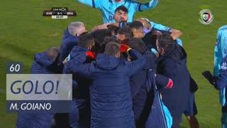GOLO! SC Braga, Marcelo Goiano aos 60', CD Aves 0-1 SC Braga