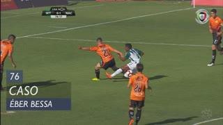 Vitória FC, Caso, Éber Bessa aos 76'