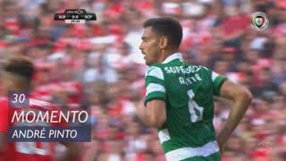 Sporting CP, Jogada, André Pinto aos 30'