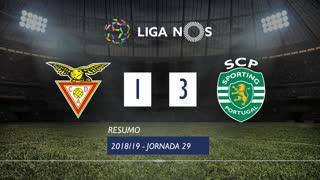 Liga NOS (29ªJ): Resumo CD Aves 1-3 Sporting CP