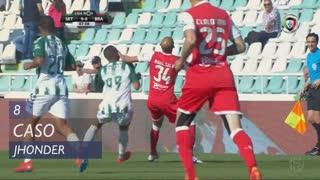 Vitória FC, Caso, Jhonder aos 8'