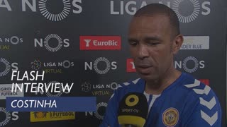 Liga (33ª): Flash Interview Costinha