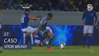 CD Feirense, Caso, Vítor Bruno aos 57'