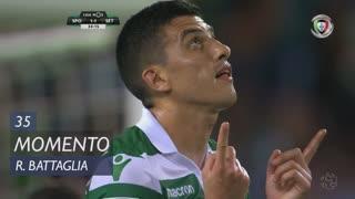 Sporting CP, Jogada, Rodrigo Battaglia aos 35'