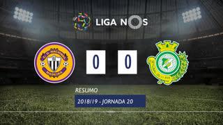 Liga NOS (20ªJ): Resumo CD Nacional 0-0 Vitória FC