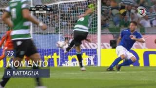 Sporting CP, Jogada, Rodrigo Battaglia aos 79'