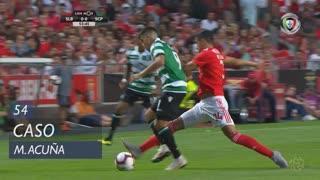 Sporting CP, Caso, M. Acuña aos 54'