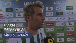 Liga (33ª): Flash Interview Fábio Coentrão