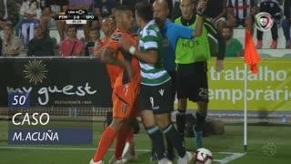 Sporting CP, Caso, M. Acuña aos 50'