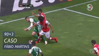 SC Braga, Caso, Fábio Martins aos 90'+3'