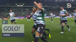 GOLO! Sporting CP, Nani aos 9', Sporting CP 1-0 Vitória FC