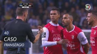 SC Braga, Caso, Fransérgio aos 40'