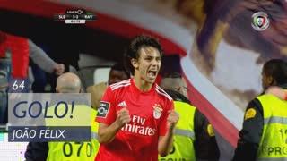 GOLO! SL Benfica, João Félix aos 64', SL Benfica 3-2 Rio Ave FC
