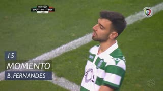 Sporting CP, Jogada, Bruno Fernandes aos 15'