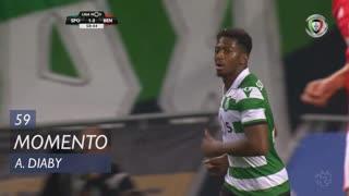 Sporting CP, Jogada, A. Diaby aos 59'