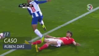 SL Benfica, Caso, Rúben Dias aos 17'
