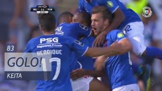 GOLO! Os Belenenses, Keita aos 83', Os Belenenses 2-2 FC Porto