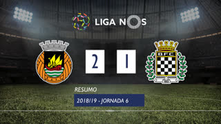 Liga NOS (6ªJ): Resumo Rio Ave FC 2-1 Boavista FC