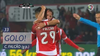 GOLO! CD Aves, Claudio Falcão aos 33', CD Aves 1-1 Sporting CP