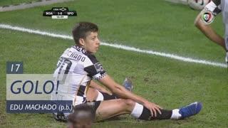 GOLO! Sporting CP, Edu Machado (p.b.) aos 17', Boavista FC 1-1 Sporting CP