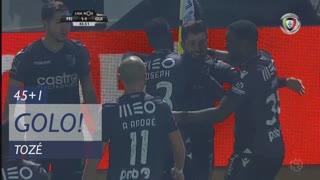 GOLO! Vitória SC, Tozé aos 45'+1', CD Feirense 1-2 Vitória SC