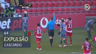 Vitória FC, Expulsão, Cascardo aos 64'