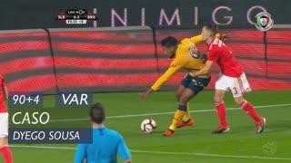 SC Braga, Caso, Dyego Sousa aos 90'+4'