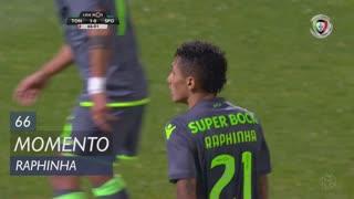 Sporting CP, Jogada, Raphinha aos 66'