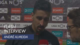 Liga (25ª): Flash Interview André Almeida