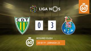 Liga NOS (23ªJ): Resumo Flash CD Tondela 0-3 FC Porto